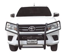 Big Country Truck Accessories 504845 BIG COUNTRY Euroguard. Grill/brush guard. Brackets included. Black powder coat