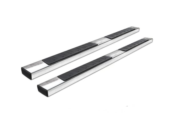 "Big Country Truck Accessories 397876 6"" WIDESIDER Platinum II Bars - 87"" Long - Stainless Steel - Bars Only"
