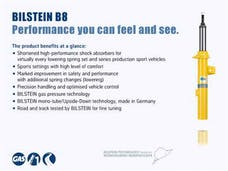 Bilstein 46-275356 B8 5162 - Suspension Leveling Kit