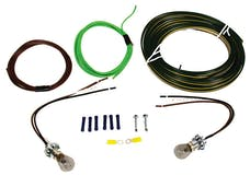 Blue Ox BX8869 TAIL LIGHT WIRING KIT; BULB/SOCKT