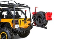 Body Armor 5296 Tire/Can Swing Arm Carrier