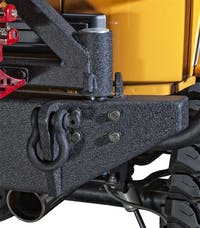 Body Armor JK-2395 New Rear bumper W/adjustable pin; accepts swing arm 5295