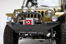 Body Armor JK-19531 Front bumper for Jeep JK; sheet metal design