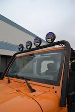 Body Armor JK-6126 Front light bar for Jeep Jk all models