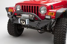 Body Armor TJ-19531 Formed Front Bumper for TJ/YJ Jeep Wrangler