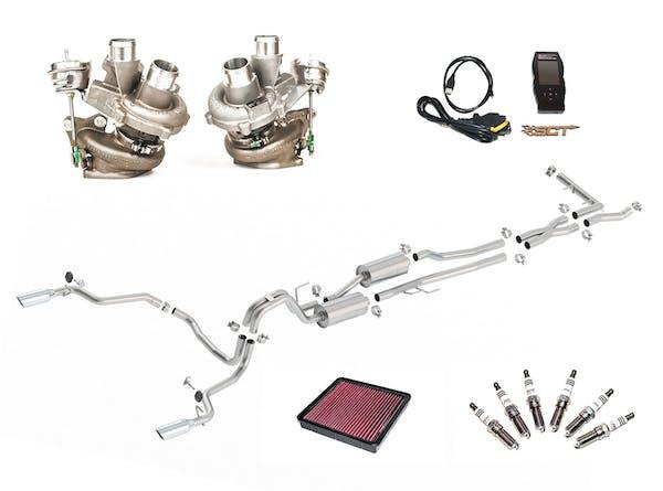 Borla 251006 S-Type Turbocharger Upgrade Kit