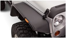 Bushwacker 10053-07 Flat Style Jeep Fender Flares, 2pc