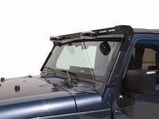 Carr 210221 Light Bar for X/Sahara/Rubicon Black Powder Coat