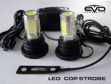 Cipa 93190 EVO Formance LED Cop Headlight Strobes - Red
