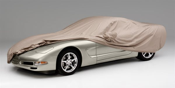 Covercraft C10007PT Covercraft Custom Fit Car Covers WeatherShield HP Taupe