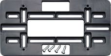 Cruiser Accessories 79150 Mounting Plate (Black)