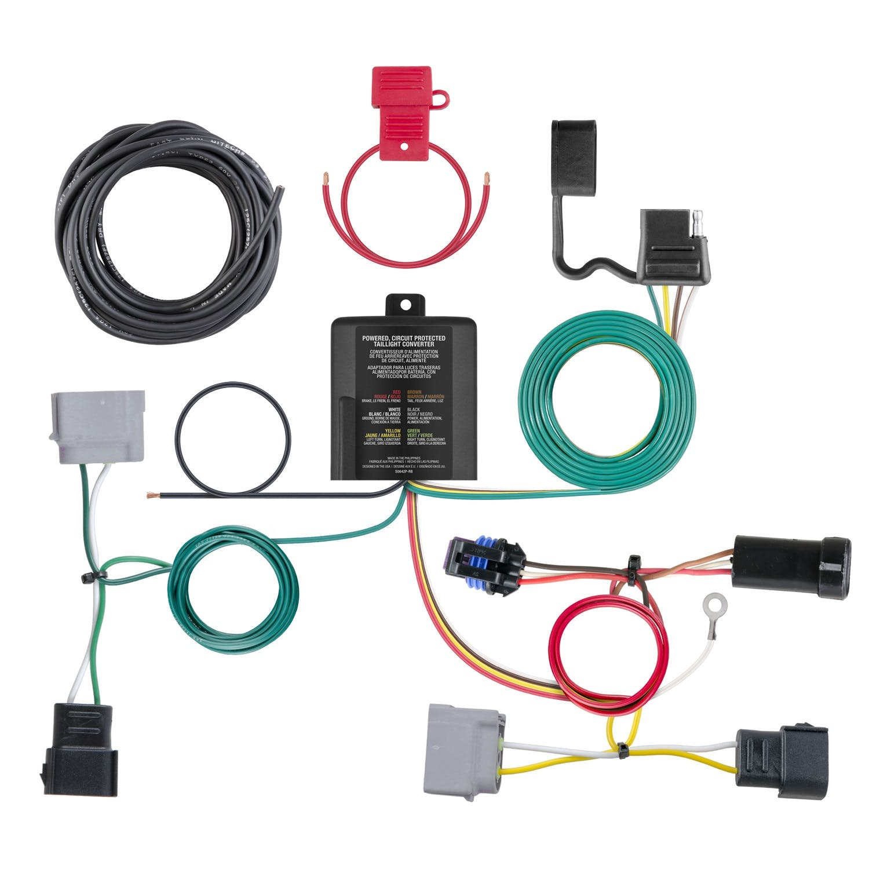 CURT Manufacturing 56306 Custom Wiring Harness