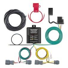 CURT 56347 Custom Wiring Harness (4-Way Flat Output)
