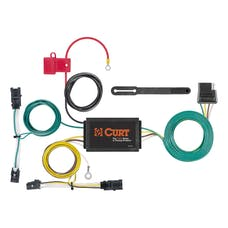 CURT 56356 Custom Wiring Harness (4-Way Flat Output)