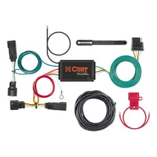 CURT 56363 Custom Wiring Harness (4-Way Flat Output)