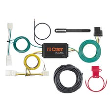 CURT 56381 Custom Wiring Harness (4-Way Flat Output)