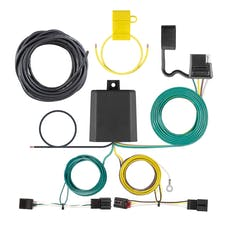 CURT 56391 Custom Wiring Harness (4-Way Flat Output)