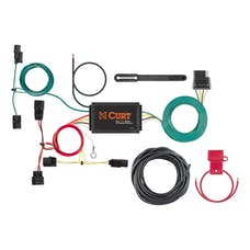 CURT 56395 Custom Wiring Harness (4-Way Flat Output)