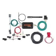 CURT 56396 Custom Wiring Harness (4-Way Flat Output)