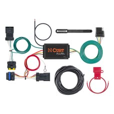 CURT 56400 Custom Wiring Harness (4-Way Flat Output)