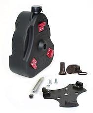 Daystar KT71001BK Cam Can; Black; Complete Kit; Non-Flammable Liquids; Includes Spout