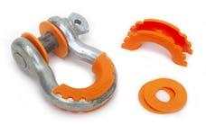 Daystar KU70057FA D-Ring Isolator And Washers; Floresent Orange