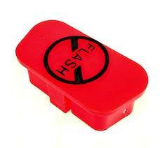 "Daystar KU71124RE Obdii Port ""Do Not Flash"" Plug; Red"