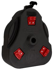 Daystar KU71131BK Cam Can Trail Box; Black (Cam Can Only)