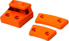 Daystar KU76148FA Cam Can Colored Replacement Cams; Fluorescent Orange