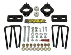 "Daystar PATL231PA Strut Extension Leveling Kit; 2.50"" Front Lift; 1.50"". Rear Lift"