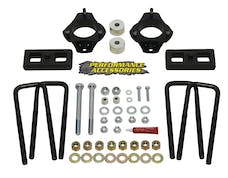 "Daystar PATL232PA Strut Extension Leveling Kit; 2.5"". Front Lift; 1"" Rear Lift"
