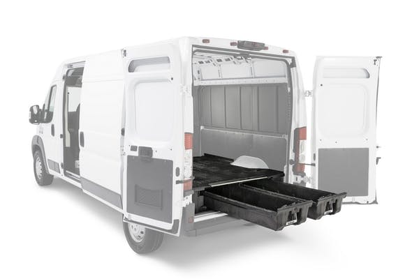 """DECKED VNGM96EXSV65 75.25"""" Two Drawer Storage System for A Full Size Cargo Van"""