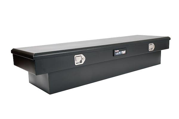 Dee Zee DZ8163SB Tool Box, Hardware Crossover Single Lid Black