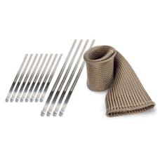 "Design Engineering, Inc. 010022 Exhaust Sleeve & Locking Ties Kit 2"" x 5'"