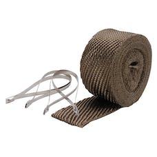 Design Engineering, Inc. 010123 Pipe Wrap/Ties Kit 2in. x 25 ft-TITANIUM