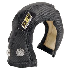 Design Engineering, Inc. 010163 Turbo Shield T25/28; Onyx; Shield Only