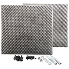 Design Engineering, Inc. 010456 Heat Shield Kit - Battery Box - Jeep JK