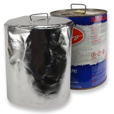 Design Engineering, Inc. 010467 Reflective Aluminized 5 Gallon Metal Round Race Fuel Can Cover