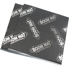 "Design Engineering, Inc. 050200 Boom Mat Performance Acoustical Material 12"" x 12-1/2"" (2 sheets) (2.1 Sq F"