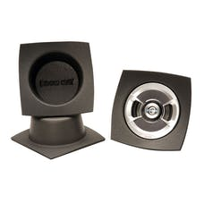 "Design Engineering, Inc. 050331 Speaker Baffles - 6.5"" Round Slim (7""w x 7""h x 3""d) (Pair)"