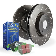 EBC Brakes S10KF1486 S10 Kits Greenstuff 2000 and GD Rotors