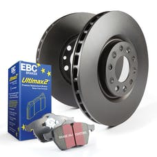 EBC Brakes S20K1587 S20 Kits Ultimax and Plain Rotors