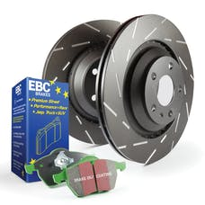 EBC Brakes S2KF1049 S2 Kits Greentuff 2000 and USR Rotors