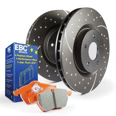 EBC Brakes S8KR1009 S8 Kits Orangestuff and GD Rotors