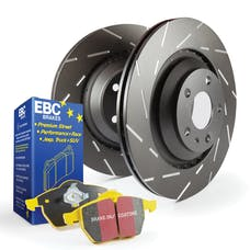 EBC Brakes S9KR1205 S9 Kits Yellowstuff and USR Rotors