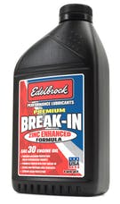 Edelbrock 1070 OIL BREAK IN SAE 30 PREMIUM (SINGLE)