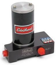 Edelbrock 1791 Quiet-Flo In-Line Black Electric Fuel Pump - 120 GPH