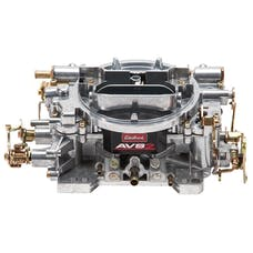 Edelbrock 1905 AVS2 650 CFM Carburetor with Manual Choke in Satin (non-EGR)