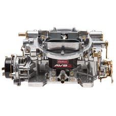Edelbrock 1906 AVS2 650 CFM Carburetor with Electric Choke in Satin (non-EGR)