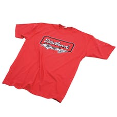 Edelbrock 2331 T-SHIRT, S/S RACING LOGO RED (M)